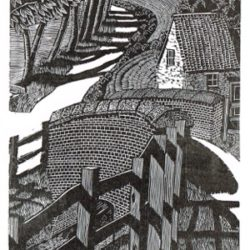 Michael Atkin Bridge lane Print