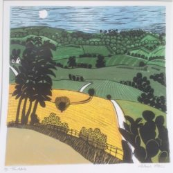 Michael Atkin Troutsdale Print