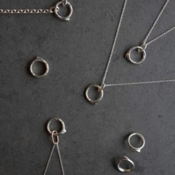 Alice Clarke Jewellery silver collection