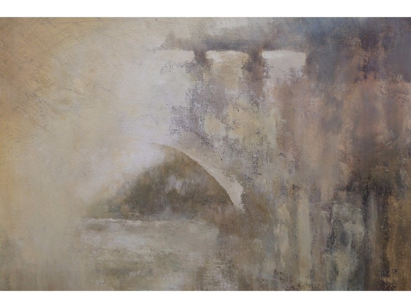 Annie Farrer chinese-bridge-on-canvas