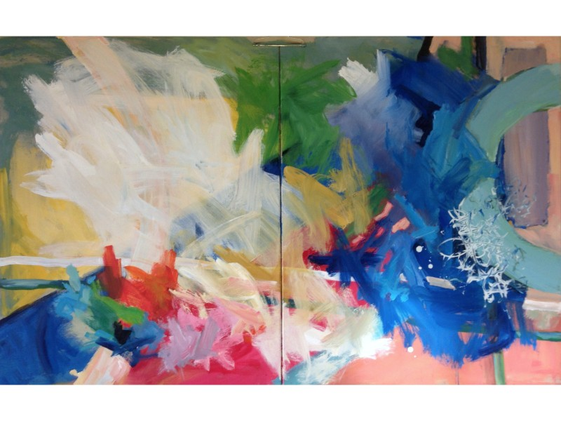 Catriona Stewart painting 1