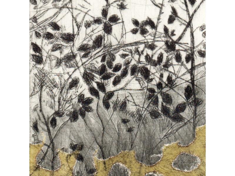 Lindsey Tyson foliage detail textile
