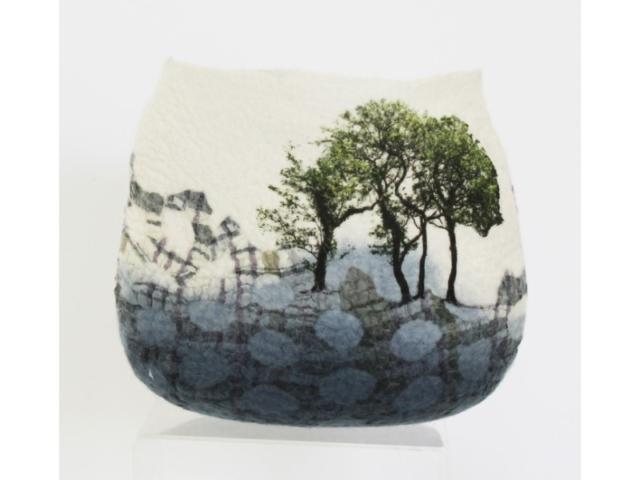 Lindsey Tyson hawthorne-bowl felted textile