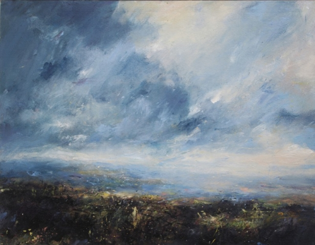 Jim Wright A Grand Day painting