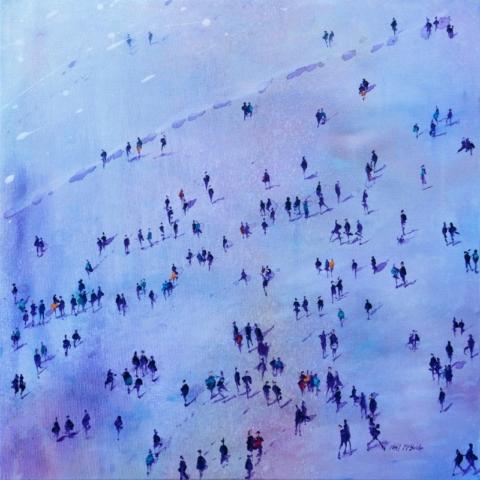 Neil McBride Painting after-the-purple-rain