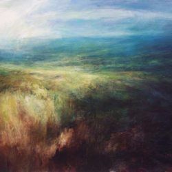 Jim Wright Painting 1 North Yorkshire Open Studios