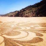 Miriam Robson Beach Land Art Scarborough