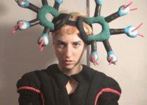 Maddy Venus, Textile Headpiece
