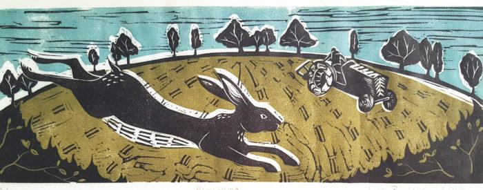 Lyn Bailey -Ploughing
